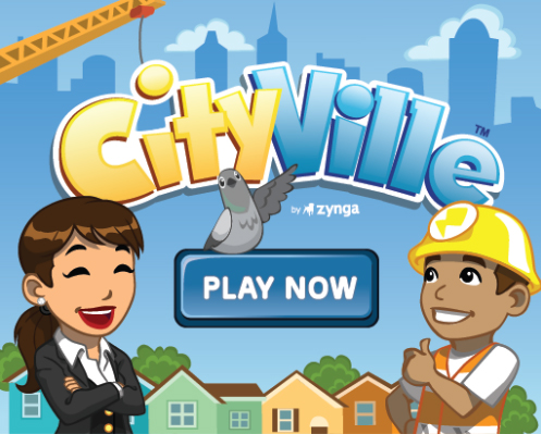 CityVille Game Intro Screen