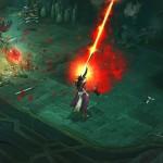 Diablo 3 Wizard Uses a Beam Attack