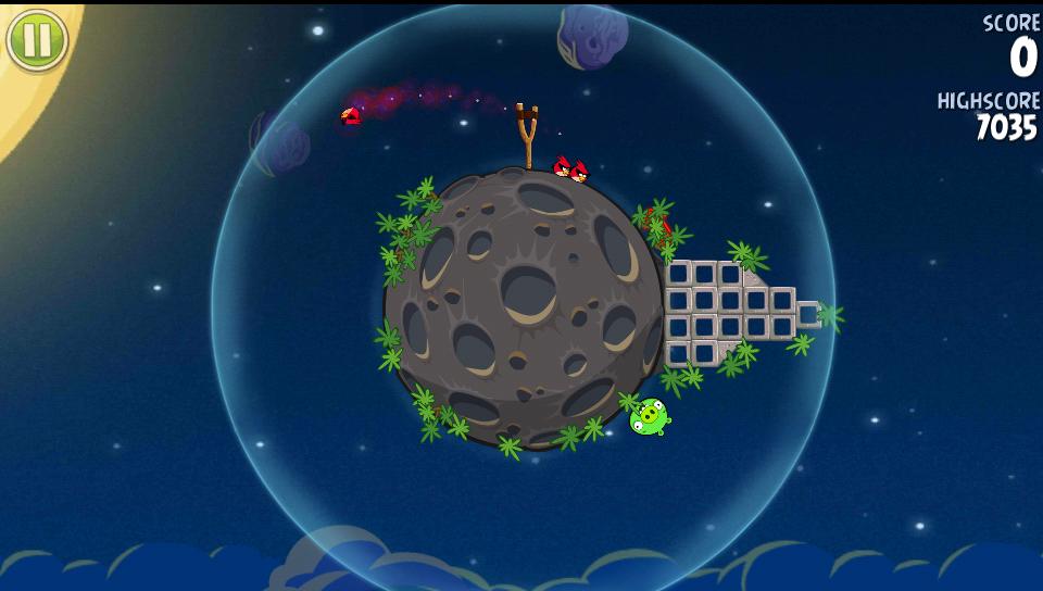 Angry Birds Space Ingenious Methods