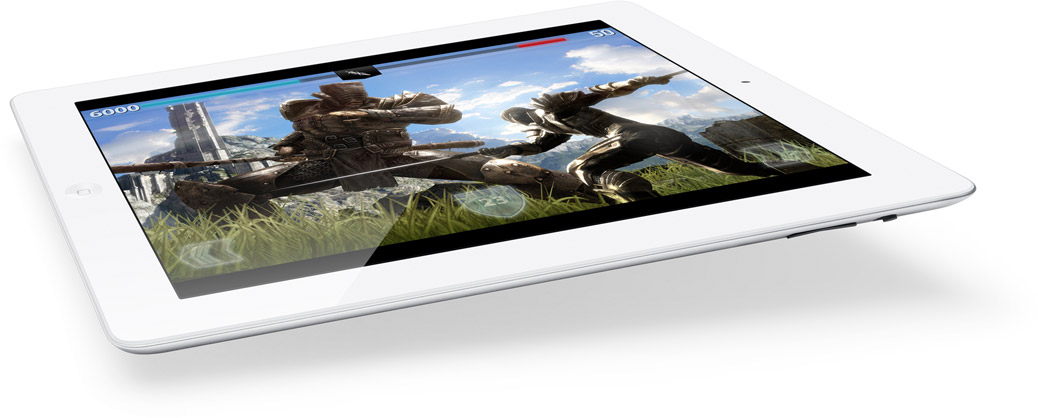 Infinity Blade on the new iPad