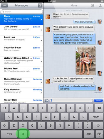 The iOS 5 Virtual Keyboard