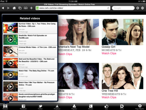 Skyfire Browser for iPad