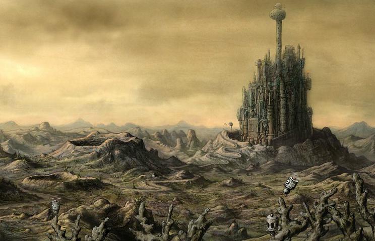 Machinarium Overworld