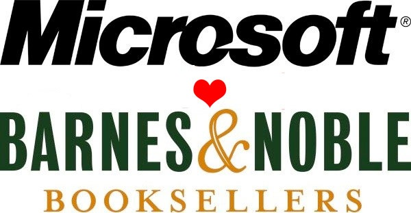 Microsoft and Barnes & Noble Partner in a $300 million Deal