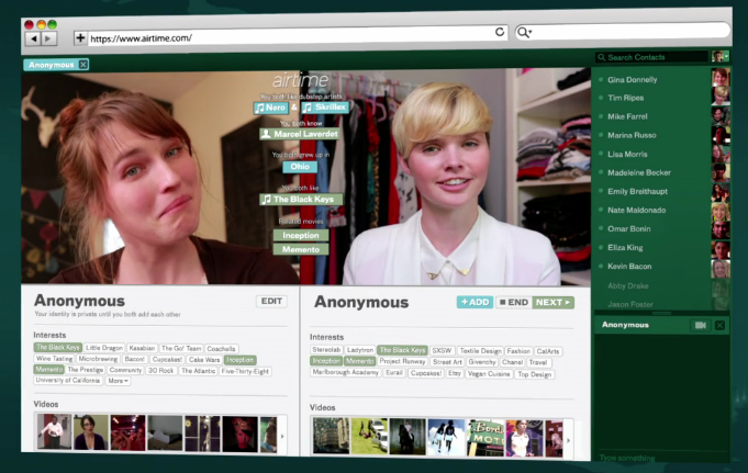 Airtime Live Video Chatting Platform