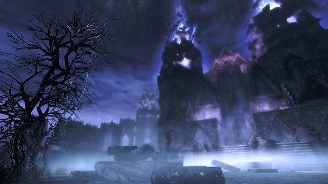 Dawnguard Skyrim Expansion- the Ghastly and Ethereal Plane of Oblivion Realm