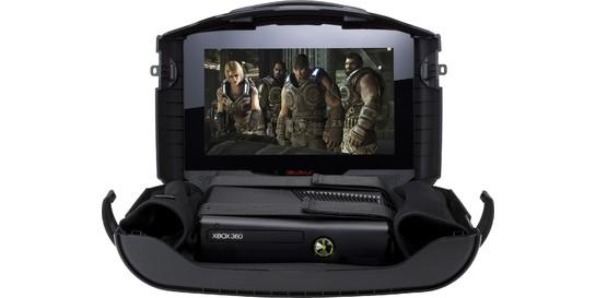 GAEMS G155 With Microsoft Xbox 360 4GB & Special GOW Design
