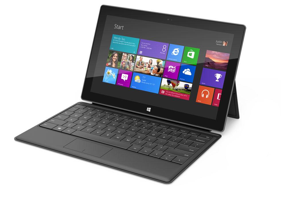 Microsoft Surface Windows 8 Tablet Black