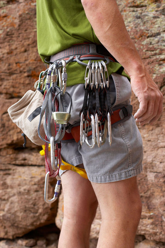 Rock Climbing Gear! ...And Dear Lord Look at Those Shorts!