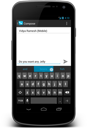 Smarter Android 4.1 Keyboard
