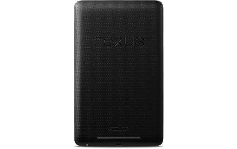 Google Nexus 7 Rear