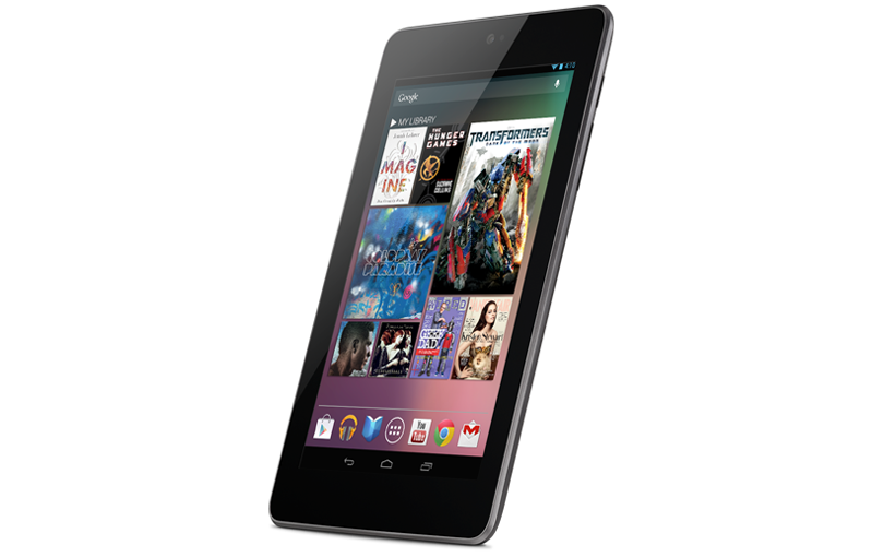 Google Nexus 7 Side Profile