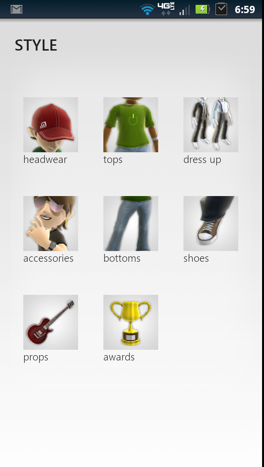 My Xbox Live Edit Avatar Style