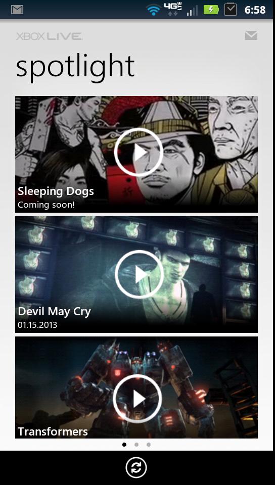 My Xbox Live Spotlight Page