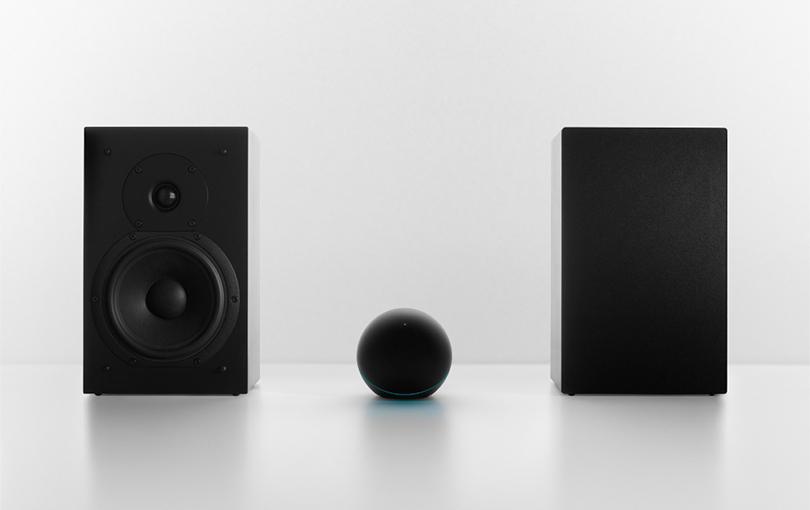 Nexus Q With Speakers