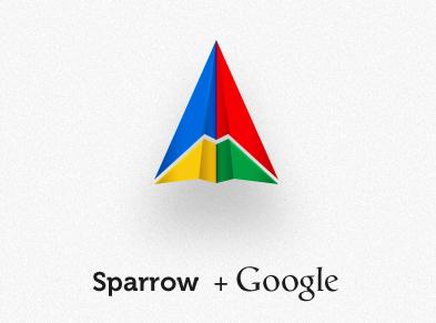 Sparrow+Google
