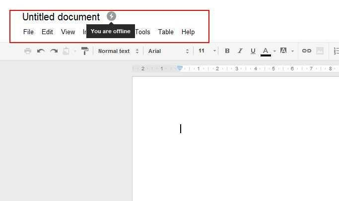 Google Drive Now Offers Offline Editing!