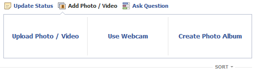 Uploading a video to Facebook Step 3