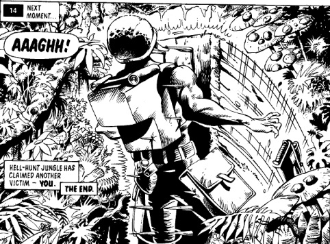 You are Rogue Trooper in KILLOTHON, in Diceman 3, 1986