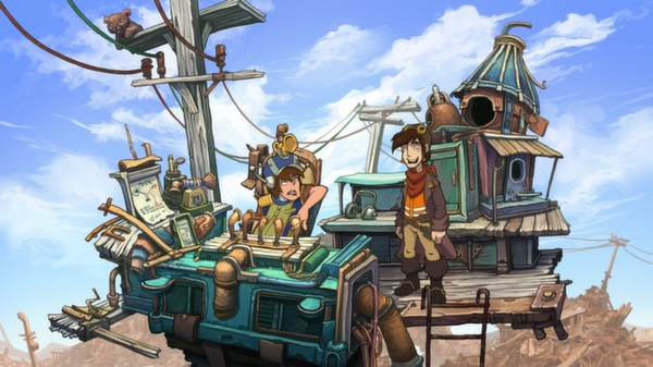 Deponia, Rufus & The Planet