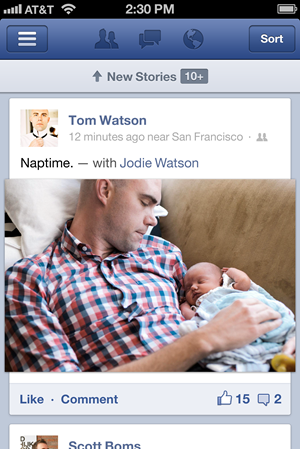 Facebook 5.0 Faster Newsfeed