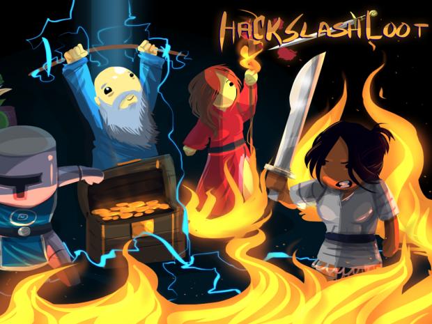 Hack Slash And Loot Artwork