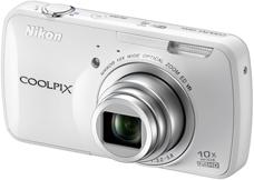 Nikon Coolpix S800C White
