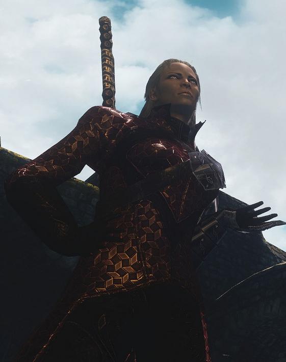 Skyrim Blood Witch Armor Mod