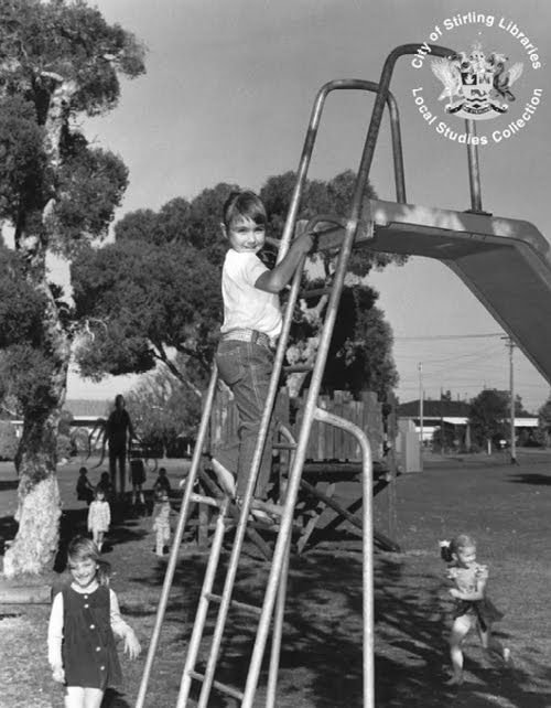 Slender Man at Playground