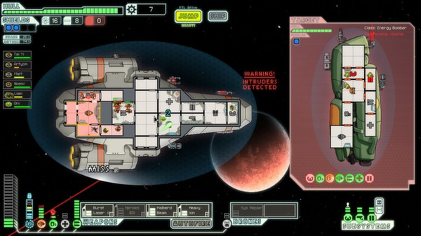 Faster Than Light Ship Upgrades Window