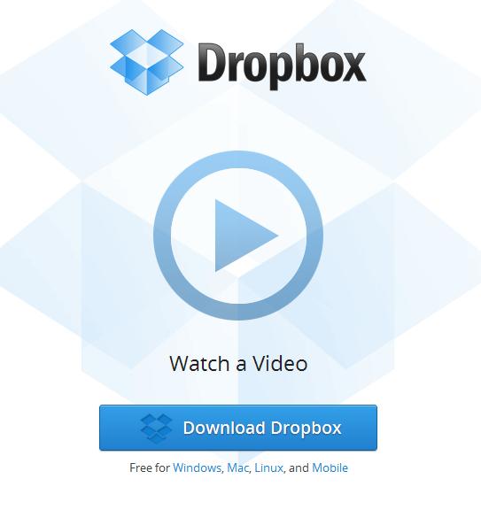 Dropbox Main Site