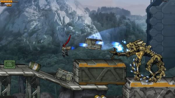Intrusion 2 Shooting Enemies