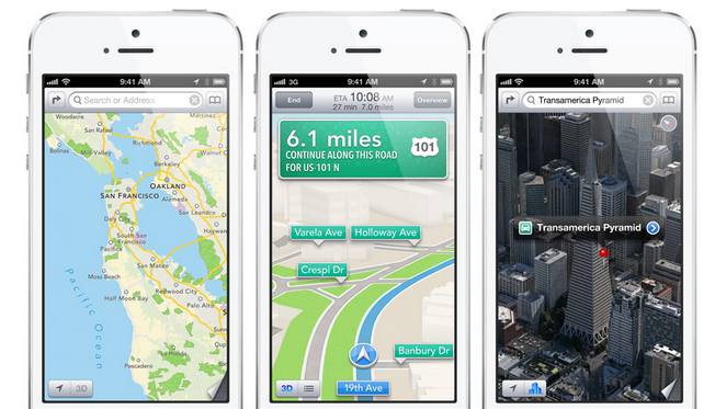 Maps by Apple