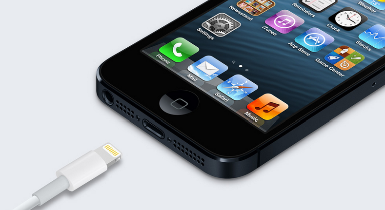 New iPhone 5 Lightning Connector