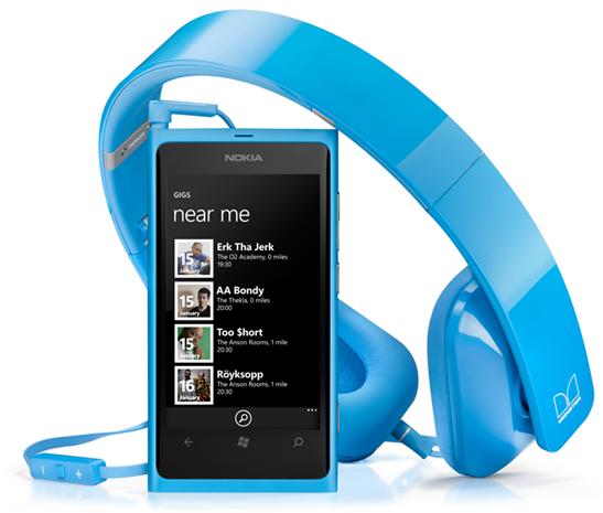 Nokia Music For Lumia Nearby Gigs