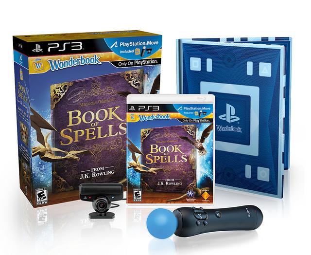 PlayStation Wonderbook Book of Spells Complete Bundle For $79.99