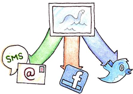 Saving Dropbox Files Socially