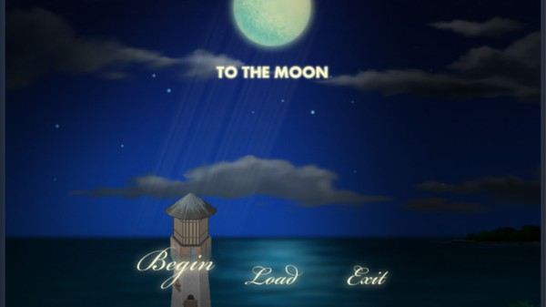 To The Moon Title Menu