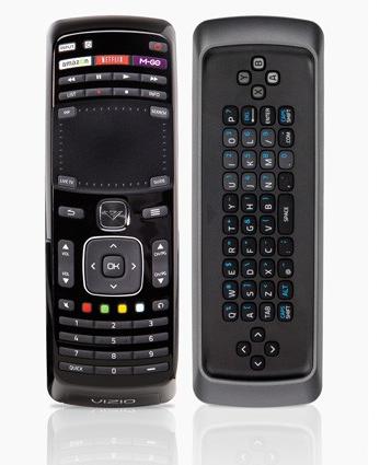 Vizio Co-Star Remote Front & Rear