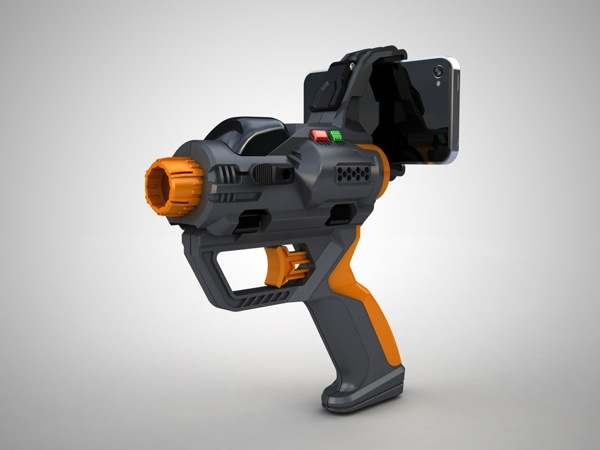 Hex3 AppTag Laser Blaster Front View