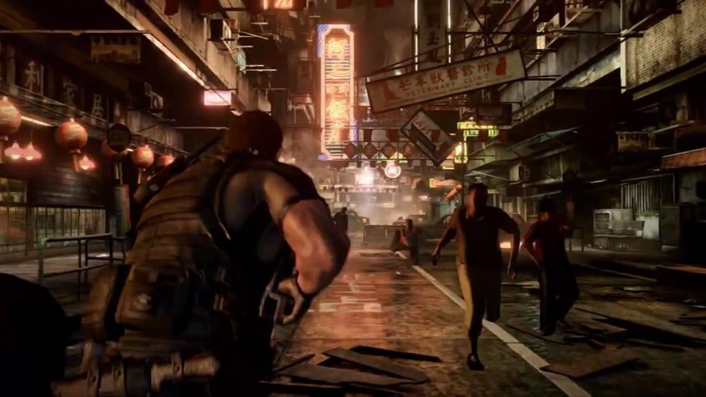 Chris Redfield in Resident Evil 6