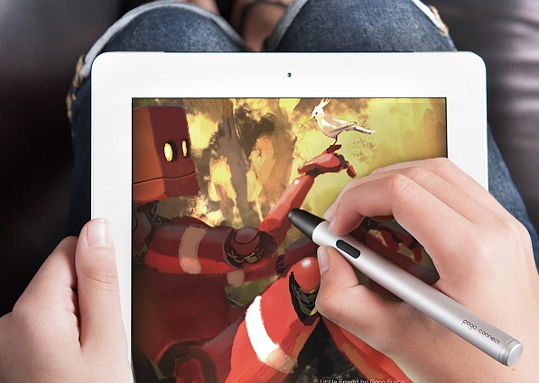 Drawing on The iPad With The Pogo Connect