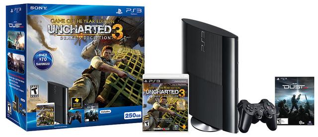 PS3 Superslim 250GB Bundle