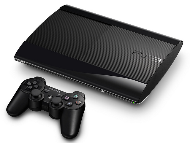 PS3 Superslim with DualShock 3 Controller