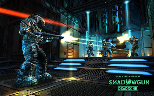 Shadowgun DeadZone Beta Gameplay