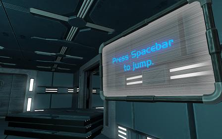 Vitrum Press Spacebar to Jump
