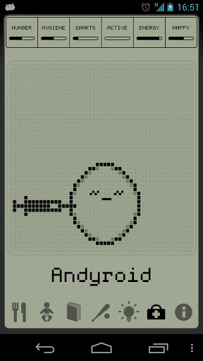 Andyroid Hatchi Getting Medication