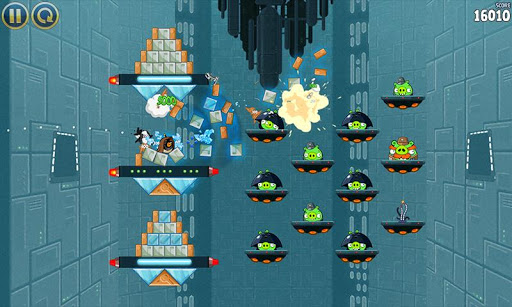 Angry Birds Star Wars Inside The Death Star