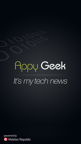 Appy Geek It's my Tech News