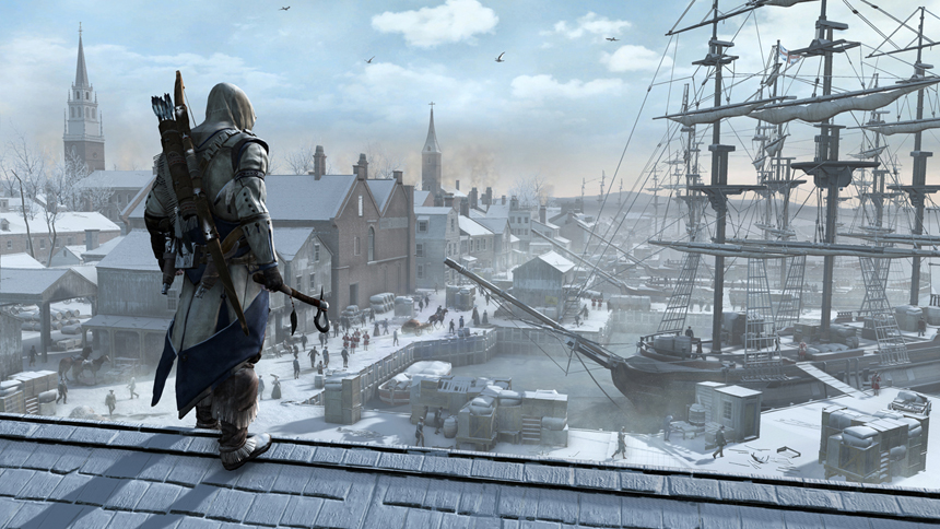 Assassins Creed III Boston Harbor